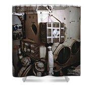 Apollo 13s Mailbox Shower Curtain