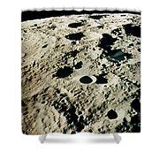 Apollo 15: Moon, 1971 Shower Curtain