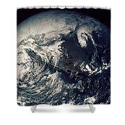 Apollo 16: Earth Shower Curtain
