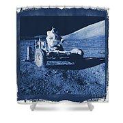 Apollo 17 Lunar Rover - Nasa Shower Curtain