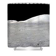 Apollo 17 Panorama Shower Curtain