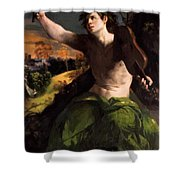 Apollo And Daphne 1524 Shower Curtain