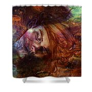 Apollo Dreaming Shower Curtain