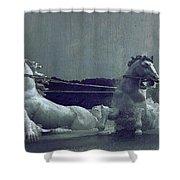 Apollo Fountain Shower Curtain