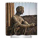 Apollo In Pompeii Shower Curtain