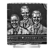 Apollo One Crew Shower Curtain