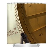 Apollo Rocket Shower Curtain