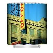 Apollo Vignette Shower Curtain