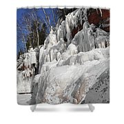 Apostle Islands Cliffs Shower Curtain