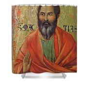 Apostle Matthias 1311 Shower Curtain