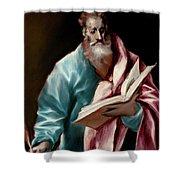 Apostle Saint Matthew Shower Curtain