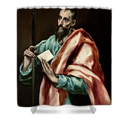 Apostle Saint Paul Shower Curtain