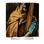 Apostle Saint Philip Shower Curtain