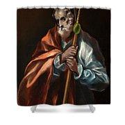Apostle Saint Thaddeus, Jude Shower Curtain
