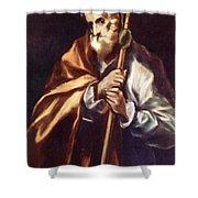 Apostle St Thaddeus Jude Shower Curtain