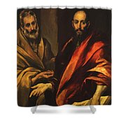 Apostles Peter And Paul 1592 Shower Curtain