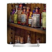 Apothecary - Inside The Medicine Cabinet  Shower Curtain