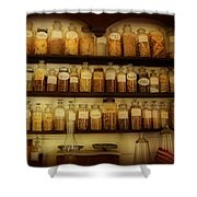 Apothecary Jars Shower Curtain