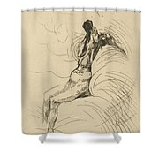 Apotheosis (l'apoth?ose) Shower Curtain