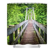 Appalachian Bridge Shower Curtain