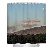 Appalachian Moonrise Shower Curtain