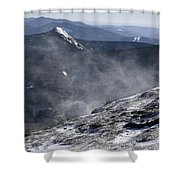 Appalachian Trail - Franconia Ridge-white Mountains New Hampshire Shower Curtain