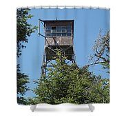 Appalachian Trail - Smarts Mountain New Hampshire Usa Shower Curtain
