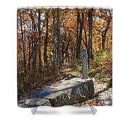 Appalachian Trail In Shenandoah National Park Shower Curtain