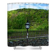 Appalachian Trail In West Virginia Goes Through Harpers Ferry Shower Curtain