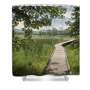 Appalachian Trail - Out Into The Light Shower Curtain