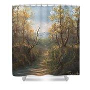 Appalachian View  Shower Curtain