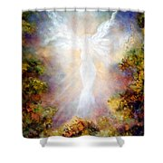 Apparition II Shower Curtain by Marina Petro
