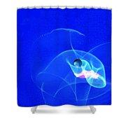 Apparition Pearl Shower Curtain by Steve Karol
