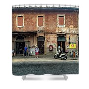 Appia Antica Break Shower Curtain