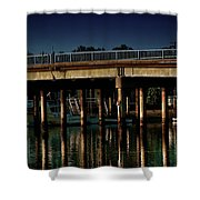 Appian Way Bridge Shower Curtain