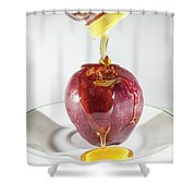 Apple And Honey Shower Curtain