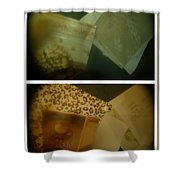 Apple Pie And Hot Sauce  Shower Curtain