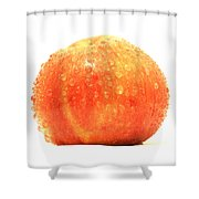 Apple Red Shower Curtain