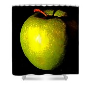 Apple Shades Shower Curtain