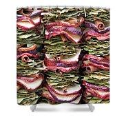 Garlands Of Apple Spice Potpourri Shower Curtain
