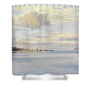 Appledore, High Tide Shower Curtain