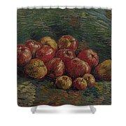 Apples Paris, September - October 1887 Vincent Van Gogh 1853 - 1890 Shower Curtain
