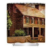 Appomattox Court House By Liane Wright Shower Curtain
