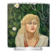 Apprehension Shower Curtain