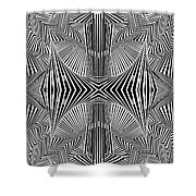 Apprehensions Shower Curtain