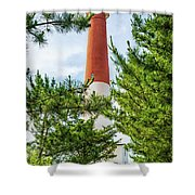 Approach To Barnegat Light Shower Curtain