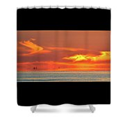 Approaching August Sunrise At Lake Simcoe 2  Shower Curtain