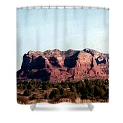 Approaching Sedona Shower Curtain