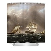 Approaching Squall Shower Curtain