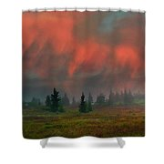Approaching Winter Shower Curtain